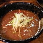 つけ麺屋ちっちょ - <2011年6月★写真追加>限定!カレーつけ麺★800円♪(つけ汁)