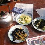 両国屋 - おしんこや山菜