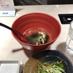 焼肉 牛之助 - スープ