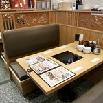 旬菜しゃぶ重 - ボックス席