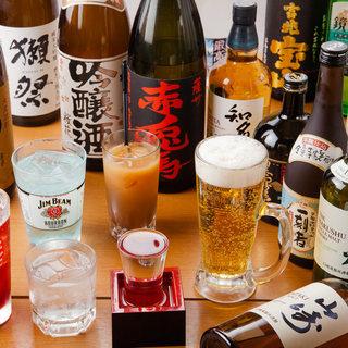 定番~希少な銘柄まで!お酒好きの方も納得の品揃え。