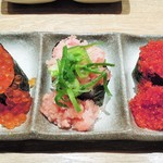 高木鮮魚店 - こぼれ三貫