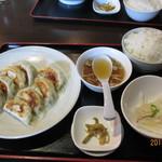 あQ - 自家製焼き餃子定食