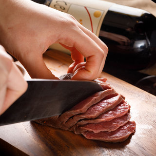 chouchouのこだわり『熟成肉』