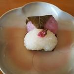 銀座甘楽 - 紅白道明寺