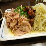 麺・粥 けんけん - 肉もやし480円