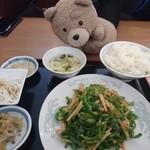 中華料理 豊楽園 - チンジャオ定食
