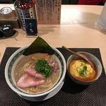セアブラノ神 - 背脂煮干しそば 天津飯セット  ¥950