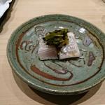 81296866 - 太刀魚、ワサビの新芽