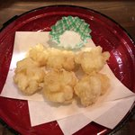 マルハチ商店 - 白子の天ぷら(¥780)