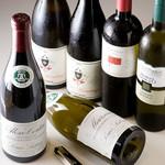 博多もつ処 浜や - 肉に合わせたセレクトワイン