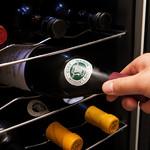 博多もつ処 浜や - 赤・白それぞれ適温で保存するワインセラー