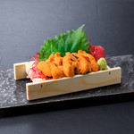 浜焼き しんちゃん - 生雲丹   1280円