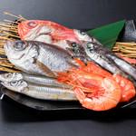 浜焼き しんちゃん - 深海おまかせ盛り   1480円