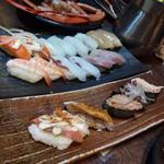 極上炭火海鮮 魚銭 - 寿司たち