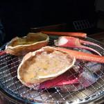 極上炭火海鮮 魚銭 - カニ