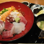 大乃や 青竹庵 - 海鮮丼