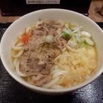 81300714 - 肉うどん(500円)