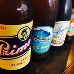 Tahitian Restaurant & Bar Papeete - ボトルビール