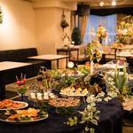 パーティプラネット 銀座PPサロン ー貸切ダイニングー - 美しくもきめ細かい創作料理~イタリアンから和洋折衷まで~