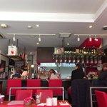 浅草カフェ ラグランドカリス - この日は外人さんが多かった