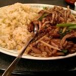 Miga - 餡掛けの椎茸チャーハン。一番のオススメだそうです。