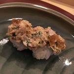 81303953 - とらふぐの寿司とあん肝