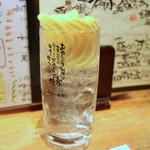 """味楽 - 「インスタ映えする""""生しぼりレモンサワー""""」"""