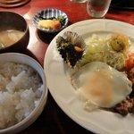 ふらいぱん - ポリネシアンソース炒め(美味しかった)