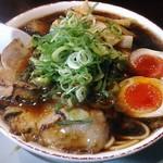新福菜館 - 【中華そば竹入 + 煮玉子】¥830 + ¥100