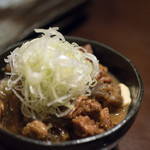 Re 楽酒 - 2018.2 和牛のもつ煮(650円)
