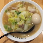白菜タンメン楽観 - 白菜タンメン