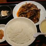 81319418 - マーボナス定食580円