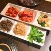 高馬宇 - 料理写真:キムチとナムルの盛合せ