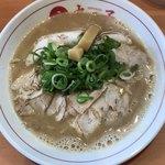 ラーメン 丸っ子 - 料理写真:Bセットのこってりラーメン790円