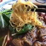 中国美食 唐苑酒楼 - 麺は縮れ細麺