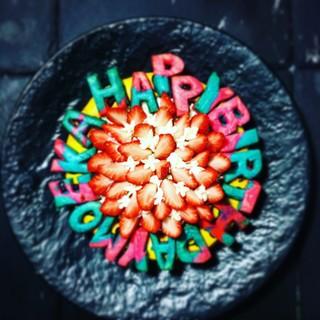 手作りのデザートとケーキ