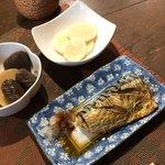 ほめ かぱか - 和定食:さばの塩焼き¥780