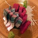 想作料理しのや - 〆鯖と赤身