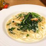 81326851 - ズワイ蟹とほうれん草のレモンクリームソース
