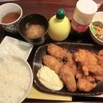昭和堂Q - 選べるセット(牡蠣フライ+チキンカツ) 2017.04.22