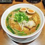 池田麺彩 - 味噌ラーメン大盛