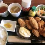 昭和堂Q - 選べるセット(牡蠣+チキンカツ) 2017.06.18
