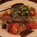四季乃味彩 - 水菜とトマトのイタリアンサラダ