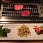表参道焼肉 KINTAN - キムチとナムル盛り350