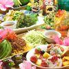 Niraikanaitachikawapanari - 料理写真:南国女子会は月~木の平日がお得!!通常3500円⇒2980円!!可愛い店内で、美肌にも効能があるという命薬(ヌチグスイ)や沖縄野菜のサラダなどを心ゆくまで楽しんで!