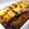 鳥喜 - 料理写真:ねぎま(日南鶏)&ムネ皮(日南鶏)&タタキ
