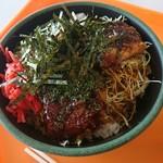 丸沼高原レストランプラトー - 上州ソースかつ丼ごはん大盛