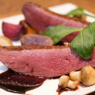 【鴨肉のロースト】贅沢品質で圧倒的ボリューム、そして低価格。