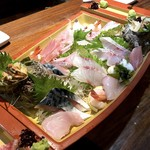 海鮮料理 活 - お刺身松(3,000円)